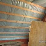 22 cm Mineralwolle unterm Dach