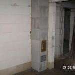 Der Schornstein beginnt im Keller