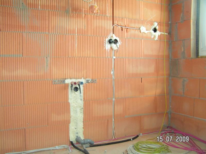 Auch Im Bad Kann Die Wand Verputzt Werden Baublog Von Katja Alexey