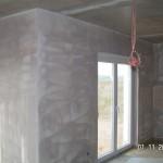 Wände grundiert, Acrylfugen gelegt