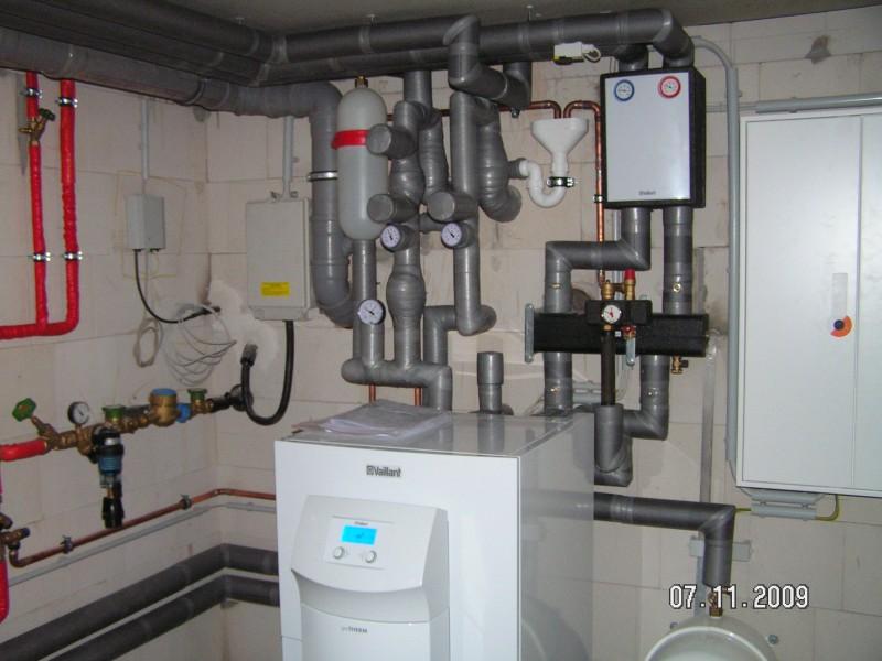 Bodengleiche Dusche Dachgeschoss : Bodengleiche Dusche im Bad fast fertig W?rmepumpe fertig und