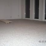 Und das Wohnzimmer ist grau-beige