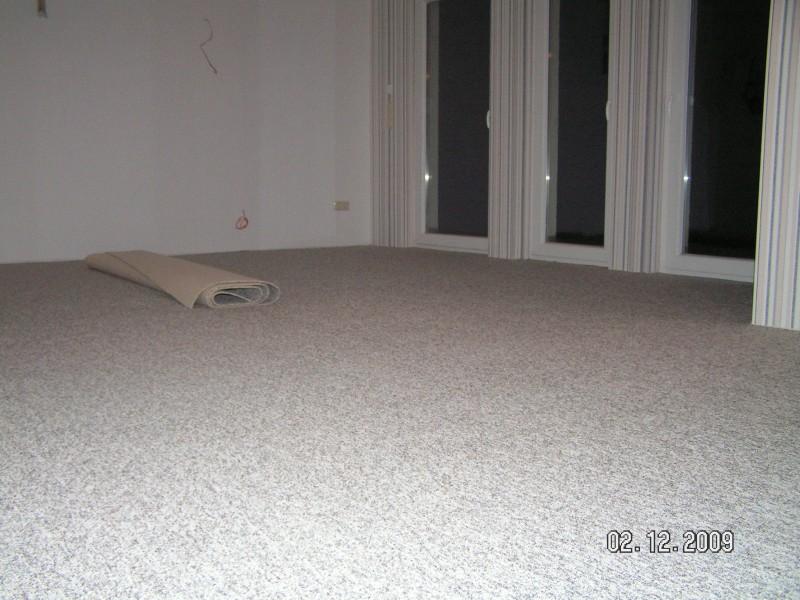 Umzugskommunikation und Teppichboden | Baublog von Katja & Alexey
