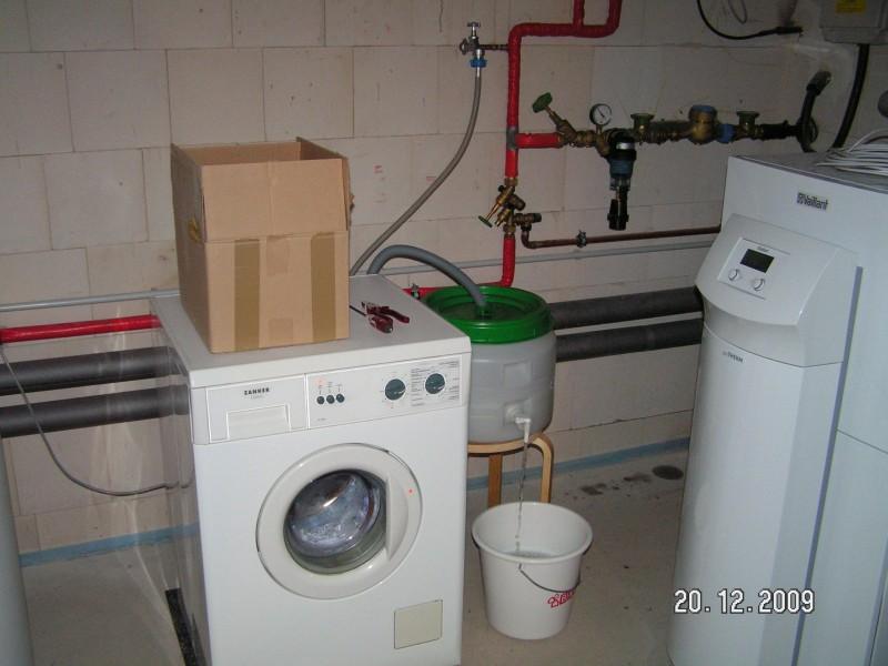 Top Waschmaschine im Keller | Baublog von Alexey HF32