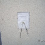 Ein Stück Wanddämmung macht Platz