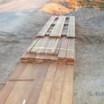 Cumaru-Hartholz für unsere Holzterrasse