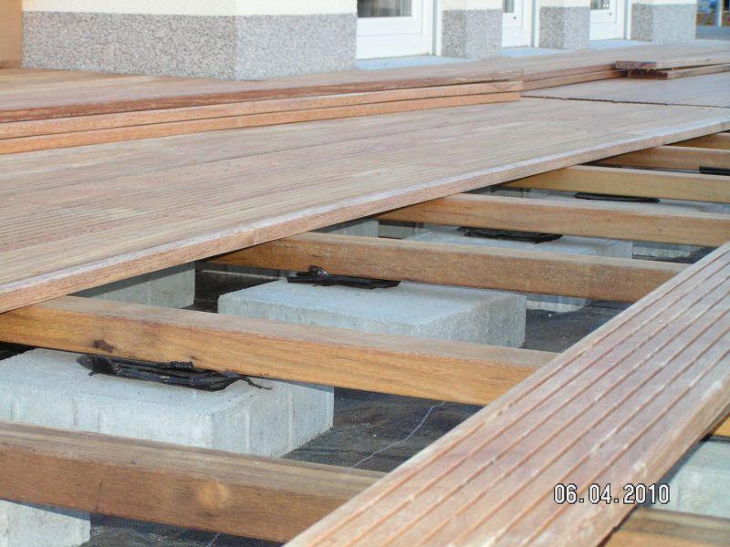 Beliebt Holzterrasse wird verlegt   Baublog von Alexey LB77