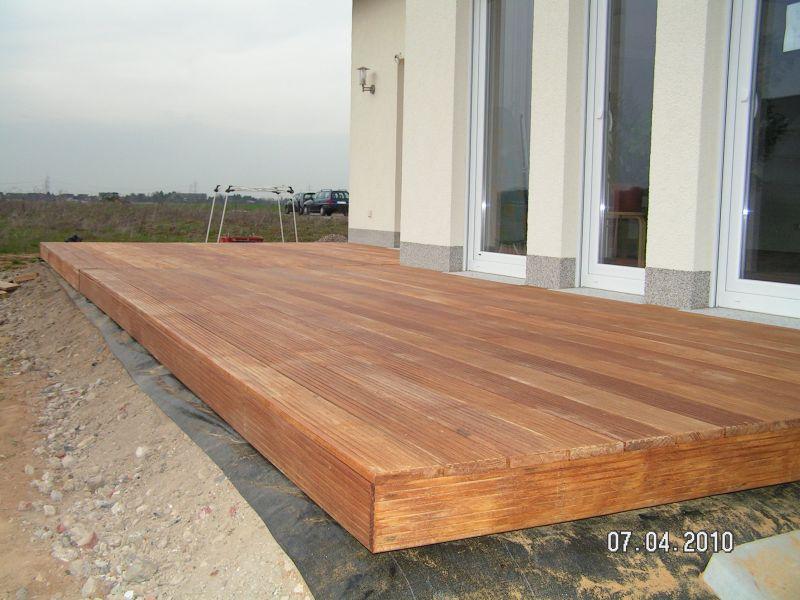 Fabulous Holzterrasse wird verlegt   Baublog von Alexey GS57