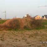 Mutterboden und Lehmwüste sind noch getrennt