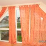 Gardine Marke Eingenbau für schräge Fenster