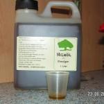 Neemöl-Emulgat soll kühl und dunkel lagern