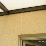 Stromanschluss fürs Terrassendach