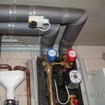 Externe Heizungspumpe und Temperaturbegrenzer