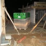 Mauerer können mit der Garage loslegen