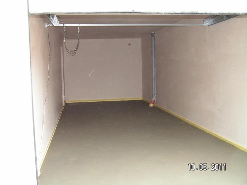 Gut gemocht Die Garage bekommt Innenputz und Estrich | Baublog von Alexey RH32