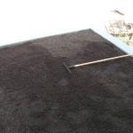 Planiert, Dünger und Samen jetzt im Substrat drin