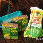 Kalihaltiger Rasendünger für den Herbst