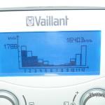 Auch nach Vaillant gut sichtbar: wir habe weniger geheizt in 2011