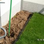 Boden vorbereiten und Steine setzen
