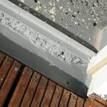 Estrich und Bodenplatte abgedichtet mit 2K-Epoxidharz