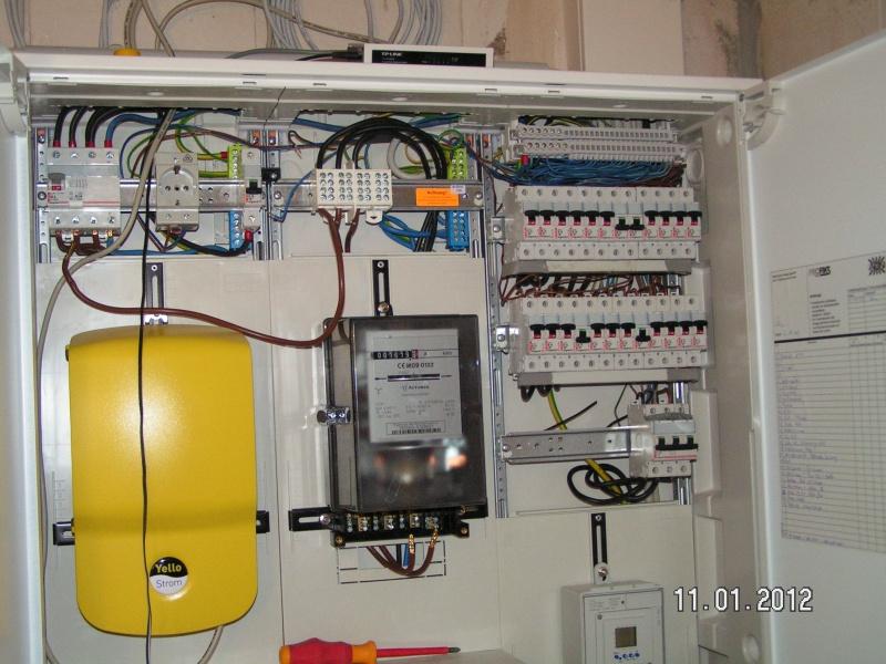 Fabulous Stromzähler für Wärmepumpe wird ausgebaut | Baublog von Alexey PP59