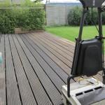 Terrassenreinigung mit OSMO in Aktion