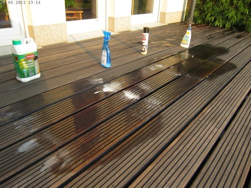 Häufig Die Holzterrasse aus Hartholz reinigen (Teil 2)   Baublog von Alexey CM05