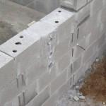 Mauerdurchführung für die Gegenstromanlage
