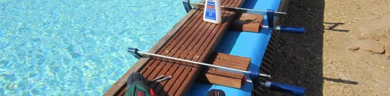 Holz am Pool (Teil 2)
