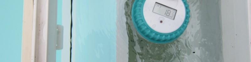 WT0122 Pool-Wassersensor schwimmt im Skimmer