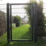 Das Camas-Tor ist aufgehängt, passt aber nicht