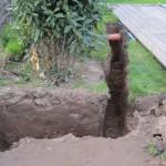 Und noch ein Anschlussgraben