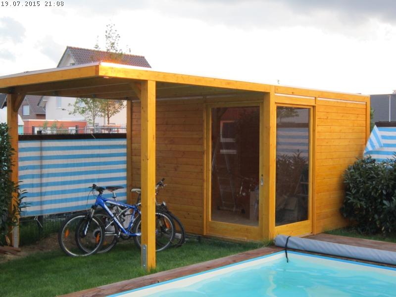 ein karibu cubus gartenhaus entsteht teil 2 holz und dach baublog von katja alexey. Black Bedroom Furniture Sets. Home Design Ideas