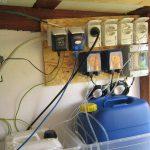 Dosieranlage für Flüssigchlor und PH-Senker