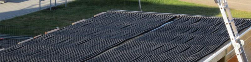 Solarheizung für den Pool
