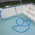 Wasser mit der Poolpumpe ohne Bodenablauf absaugen