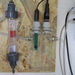 ph- und Redox-Elektroden beim Arbeiten